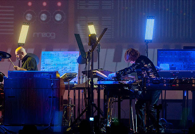 Žan Mišel Žar priredio pravi audio vizuelni spektakl u Beogradskoj areni