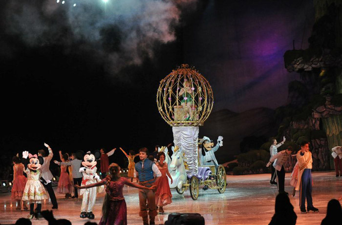 Diznijeva predstava Princeze i Heroji u Beogradskoj areni