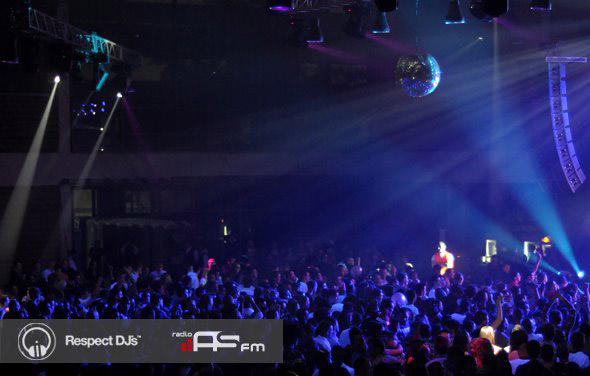 Doček 2012 Mala sala Spensa – Radio AS FM i Respect DJs