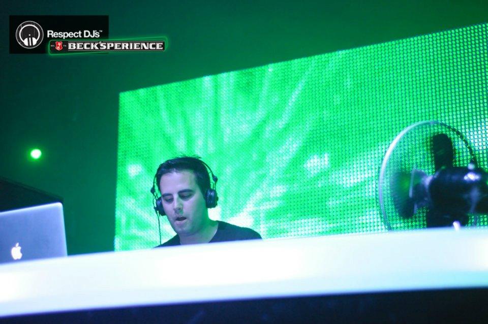 DJ UMEK na prvom novosadskom Beck'sperience-u