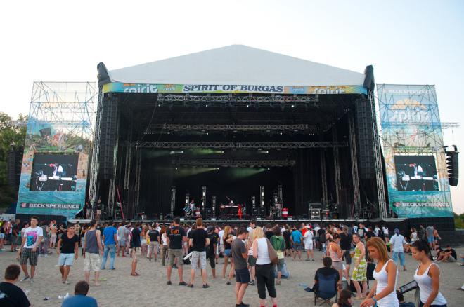 Spirit of Burgas 2012 festival